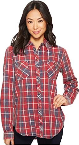 Rock and Roll Cowgirl - Long Sleeve Button B4B4317