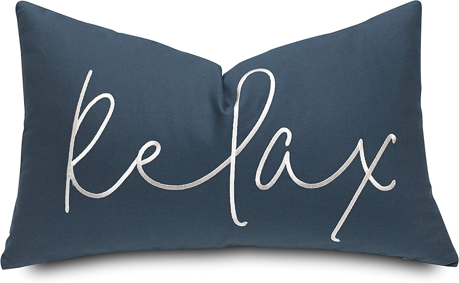 Rudransha Relax Sentiment Max 72% OFF Embroidered 4 years warranty T Accent Decorative Oblong