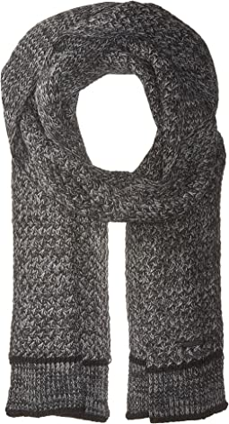 Calvin Klein - Marled Lattice Stitch Scarf