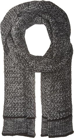 Calvin Klein - Marled Lattice Stitch Scarf