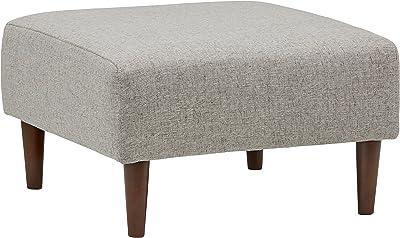Amazon.com: LF Modern Solid Wood Fabric Footrest, Nordic ...