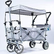 waschbar inkl Name /_/_/_ faltbar /& klappbar 100 kg belastbar 360 Gr.. STABIL ROT incl wasserfest /& wetterfest Tasche alles-meine.de GmbH Bollerwagen // Leiterwagen