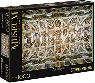 The Sistine Chapel Ceiling 1000 Piece Jigsaw Puzzle
