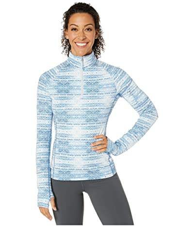 Obermeyer Discover 1/4 Zip Base Layer (Winter Mosaic) Women