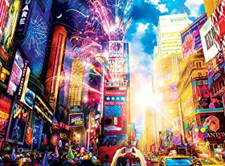 Buffalo Games - Night & Day Collection - Vibrant Times Square - 1000 Piece Jigsaw Puzzle