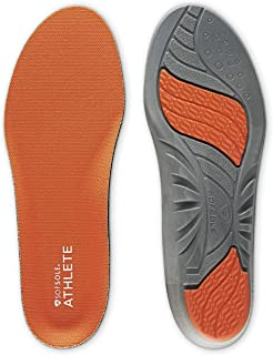 Sof Sole mens Athlete Performance Full-length Insole, Orange, Men s 11-12.5 US