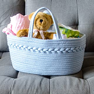 Diaper Stackers Nursery Hanging Cloth Caddies Wicker Pails Accessories Training Pants Storage Organizer Basket Bin Playard Newborn Baby Shower Crib Girl Bags Holders Changing Tables Gifts