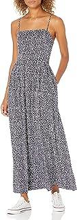 Goodthreads Amazon Brand Women's Georgette Smock-Back Cami Maxi Dress