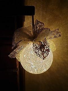 Pallina di Natale dia 10cm / oro, Idea Decorativa per Natale