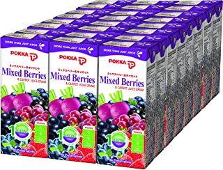 Pokka Mixed Berries & Carrot Juice Drink, 250ml (Pack of 24)