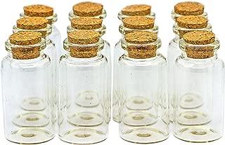 Ideal para bodas y bodas de oro Botella de cristal con grabado /«Message in a bottle/» en dorado Escribe un mensaje y enr/óllalo 17/cm