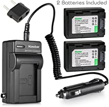 Kastar Battery X2 & Charger for Samsung IA-BP210E IA-BP210R AD43-00201A and Samsung HMX-H200 HMX-H203 HMX-H204 HMX-H205 HMX-H220 HMX-H300 HMX-H303 HMX-H304 HMX-H305 HMX-H320 HMX-H400 HMX-H405 HMX-F920