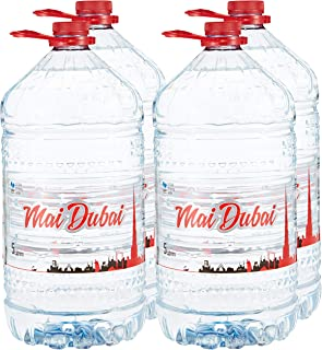 Mai Dubai Bottled Water 4x5L(Pack of 1)