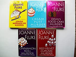 Hannah Swensen Mystery Series (Set of 5) Lemon Meringue Pie Murder; Cream Puff Murder; Devil's Food Cake Murder; Cinnamon ...