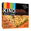 KIND Healthy Grains Bars, Peanut Butter Dark Chocolate, Gluten Free, 1.2 oz, 5 Count