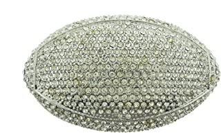 NFL American Football League Belt Buckle Halloween Costume Metal Bling Silver