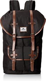 Steve Madden Men's Utility Backpack, Black, One Size