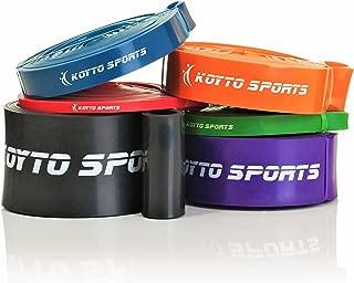 Koyto Sports Resistance Bands - 6 Levels, 2-175 lbs. Resistance, 41