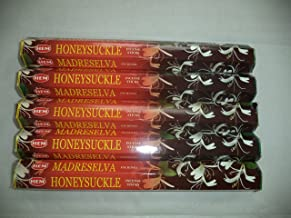 HEM Honeysuckle 100 Incense Sticks (5 x 20 stick packs)