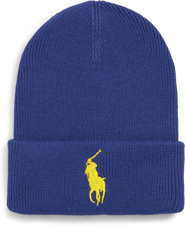 Ralph Lauren Polo Signature Merino Cuff Hat