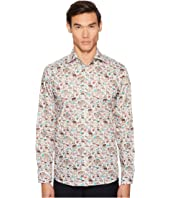 Eton - Slim Fit Animal Print Shirt