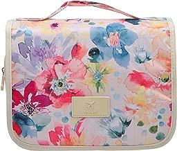 Cosmetic Makeup Bag Case Hanging Toiletry Bag Travel Organizer Travel Kit for Women Men Flower Spring