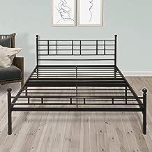 Best Price Mattress - Easy Set-up Folding Metal Bed Frame Model H - Twin XL
