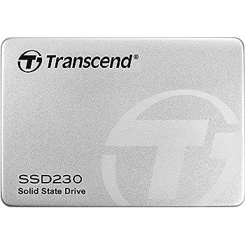 Transcend SSD 512GB 2.5インチ SATA3.0 3D NAND採用 DRAMキャッシュ搭載 5年保証 TS512GSSD230S