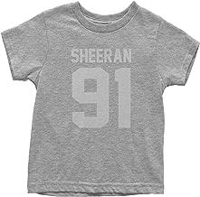 FerociTees Sheeran 91 Jersey Style Birthday Year Youth T-Shirt