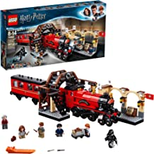 LEGO Harry Potter Hogwarts Express 75955 Toy Train Building Set includes Model Train and Harry Potter Minifigures Hermione...
