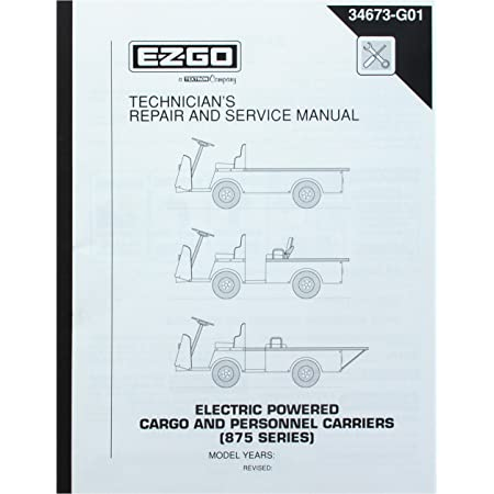 1995-1998 EZGO ELECTRIC POWERED CARGO AND PERSONNEL CARRIERS ...