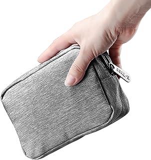 E-Tree 6.7 inch Mini Electronic Organizer, Small Travel Gadget Bag, Phone Accessories Storage Hard Drive Carry Case, Mini ...
