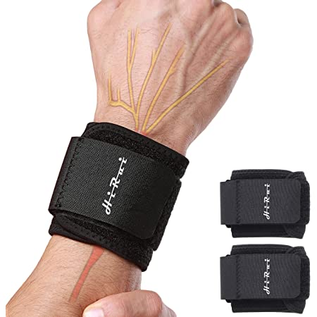 Wrist Support Weight Lifting Sprain Stabilizer Carpal Tunnel Medical Tendonitis