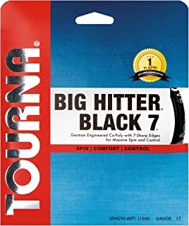 Tourna Big Hitter Black7 Ultimate Spin Polyester