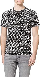 Calvin Klein AOP Diagonal Tee T-Shirt Uomo