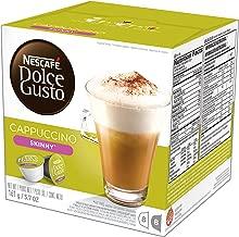 NESCAFÉ Dolce Gusto Coffee Capsules, Skinny Cappuccino, 48 Single Serve Pods, (Makes 24 Cups) 48 Count