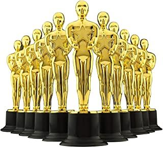 Gold Award Trophy 6 Inch Pack of 12 an Essential Prize for Parties Carnivals CelebrationsCeremony's for Winners and Partic...