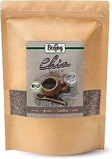 Biojoy BIO-Chia Samen schwarz, Salvia hispanica 1 kg
