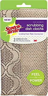 Scotch-Brite Reusable Dishcloth, Brown, 2 Count