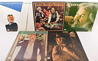 Kenny Rogers Lot of 5 Vinyl Record Albums Eyes That See in the Dark and more
