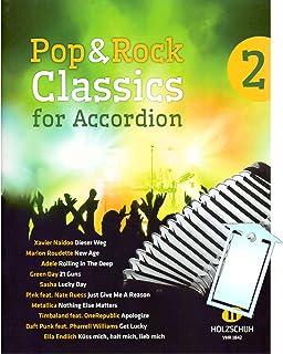 Pop y Rock Classics for acordeón con partituras de 2 [funnyusbstick/sheet music]