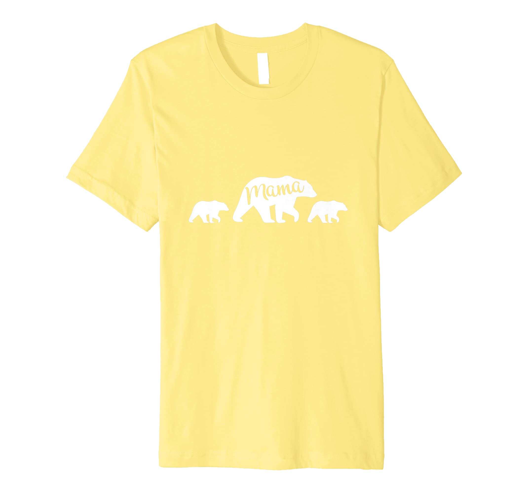 Mama Bear T Shirt with Two Cubs – Mother's Day Mom-Awarplus