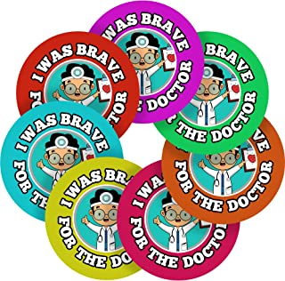 I was Brave for The Doctor Reward Sticker Labels, 35 Stickers @ 1.4