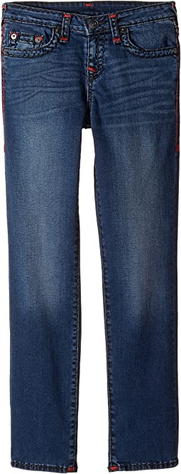 True Religion Kids - Geno Slim Fit Super T Jeans in Soft Sound (Big Kids)
