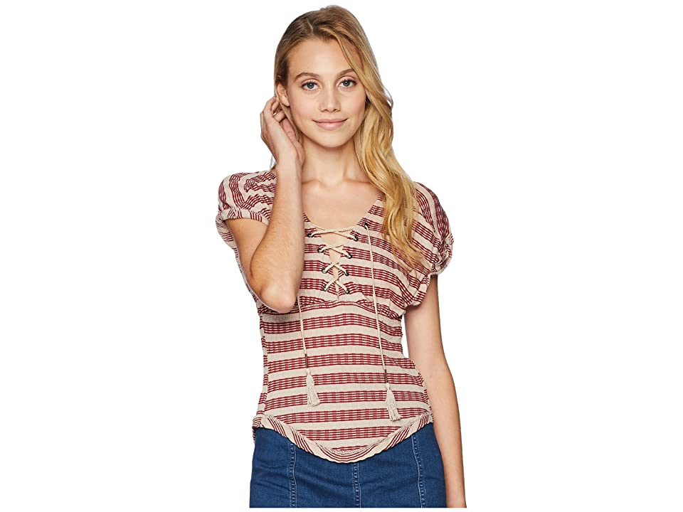 Free People Sail Out Tee (Neutral Combo) Women