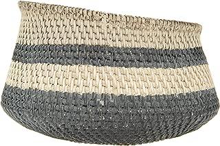 basket weave planter pot