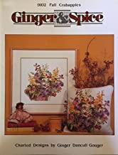 Ginger & Spice: Fall Crabapples Charted Designs for Cross Stitch #9102