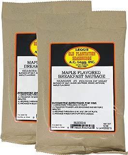Best maple flavored sausage seasoning Reviews