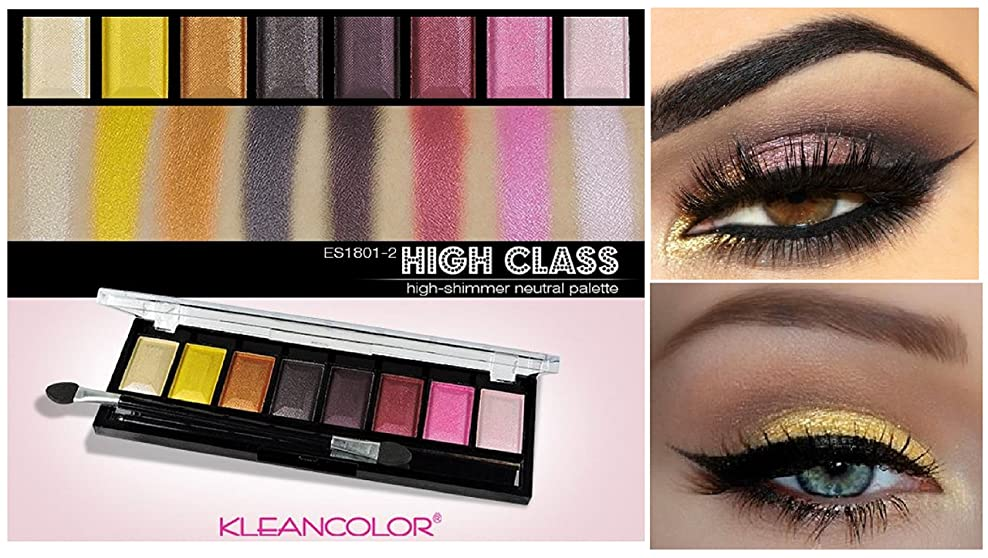 明確な安心アクティブKLEANCOLOR Your Highness Eyeshadow - High Class - High-Shimmer Neutral (並行輸入品)