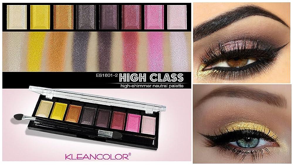 コマース実行シミュレートするKLEANCOLOR Your Highness Eyeshadow - High Class - High-Shimmer Neutral (並行輸入品)